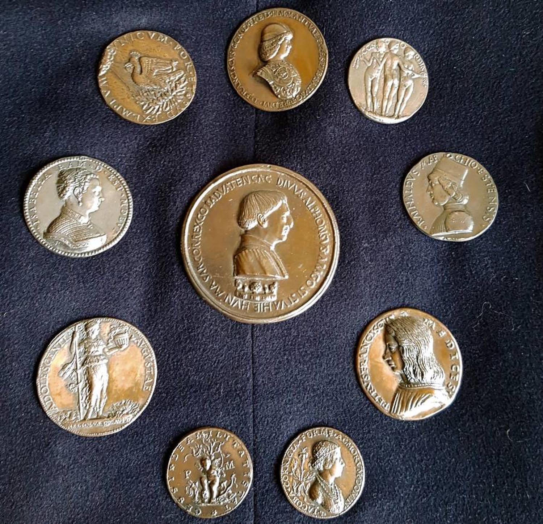 Renaissance style medallions
