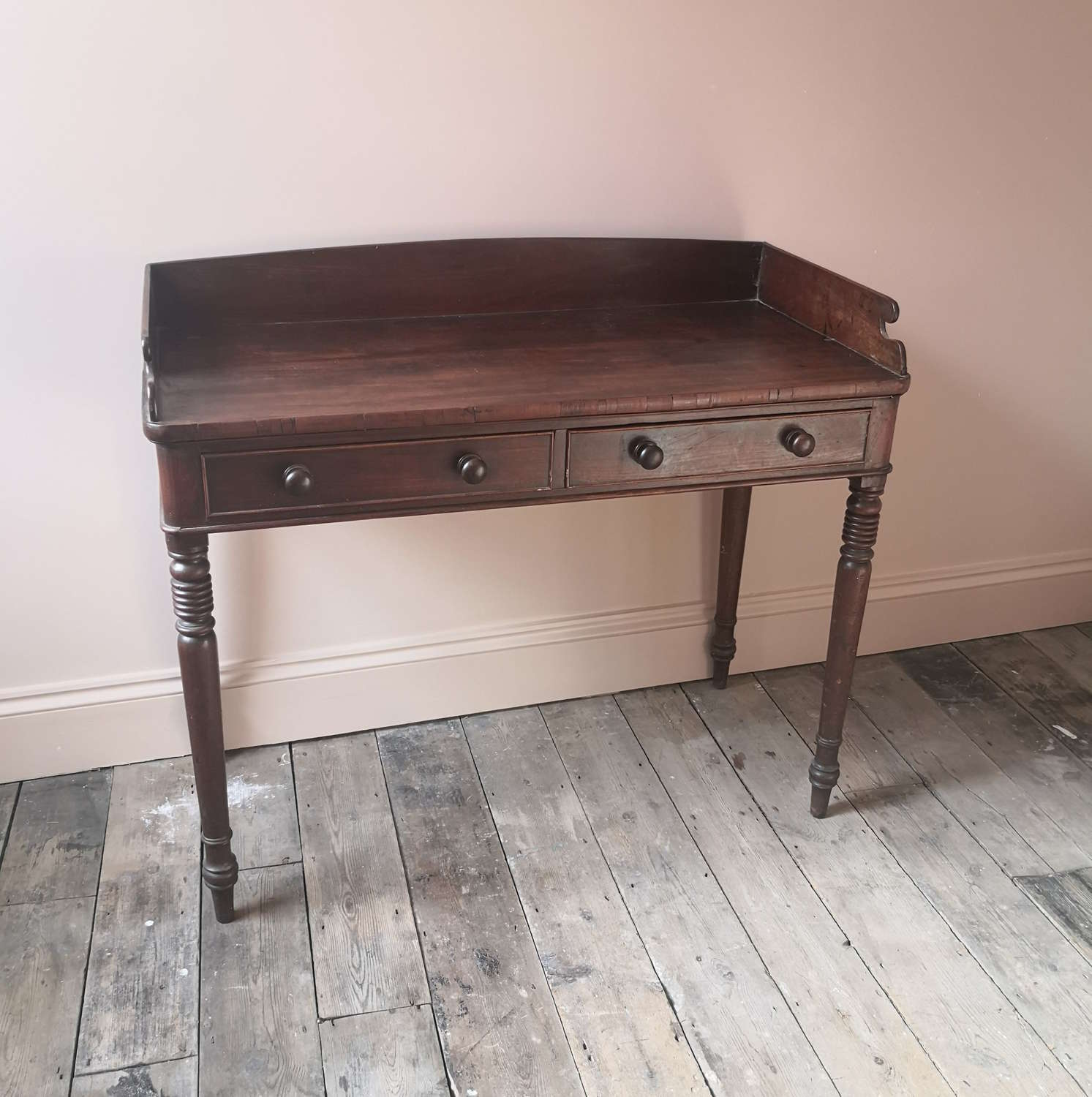 19th century writing/dressing table