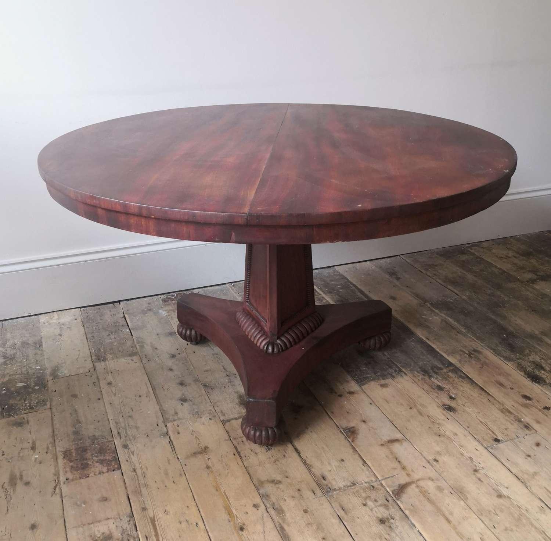 !9th century centre table