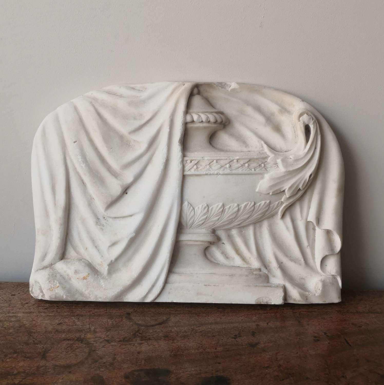 19th century funerary, monument, fragment