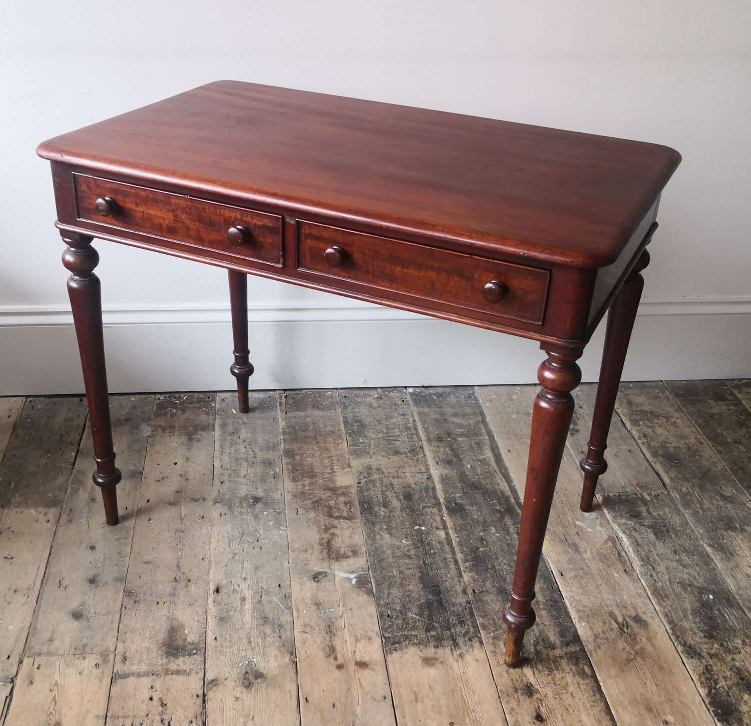 19th century two drawer centre table