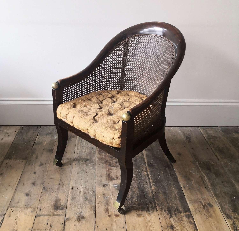 19th century bergere chair