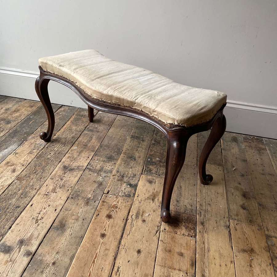 19th century long stool