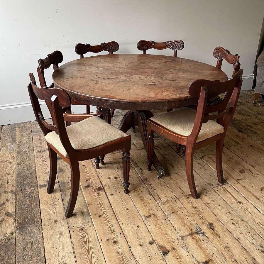 19th century dining set.