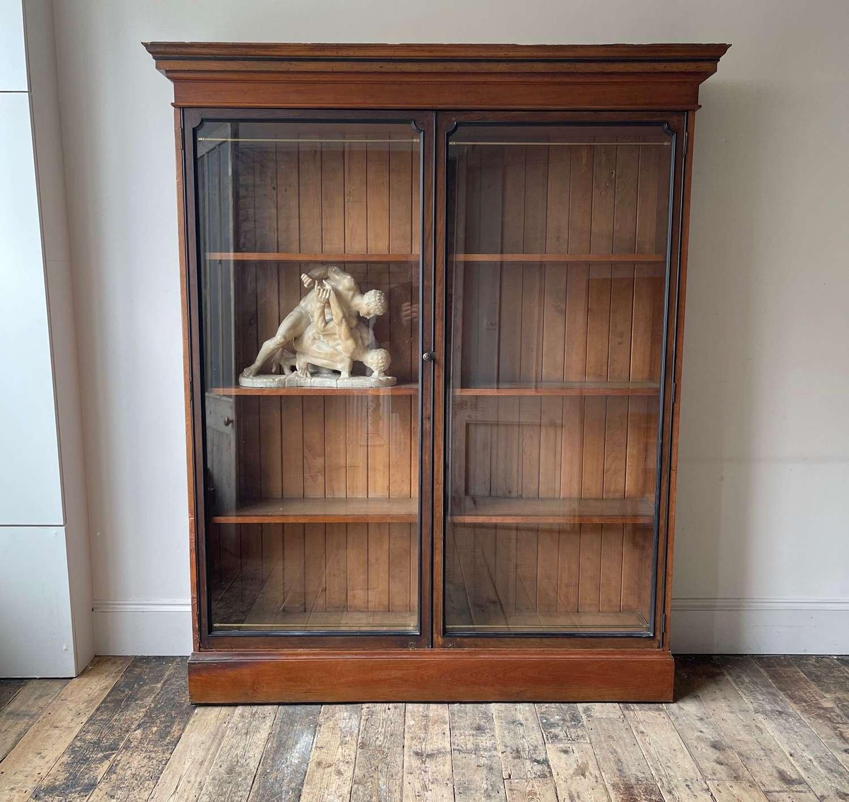 19th century display cabinet