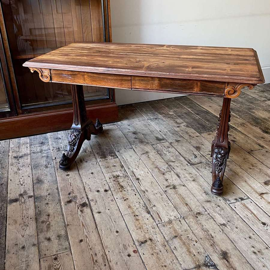 Neo Renaissance library table by Holland And Sons
