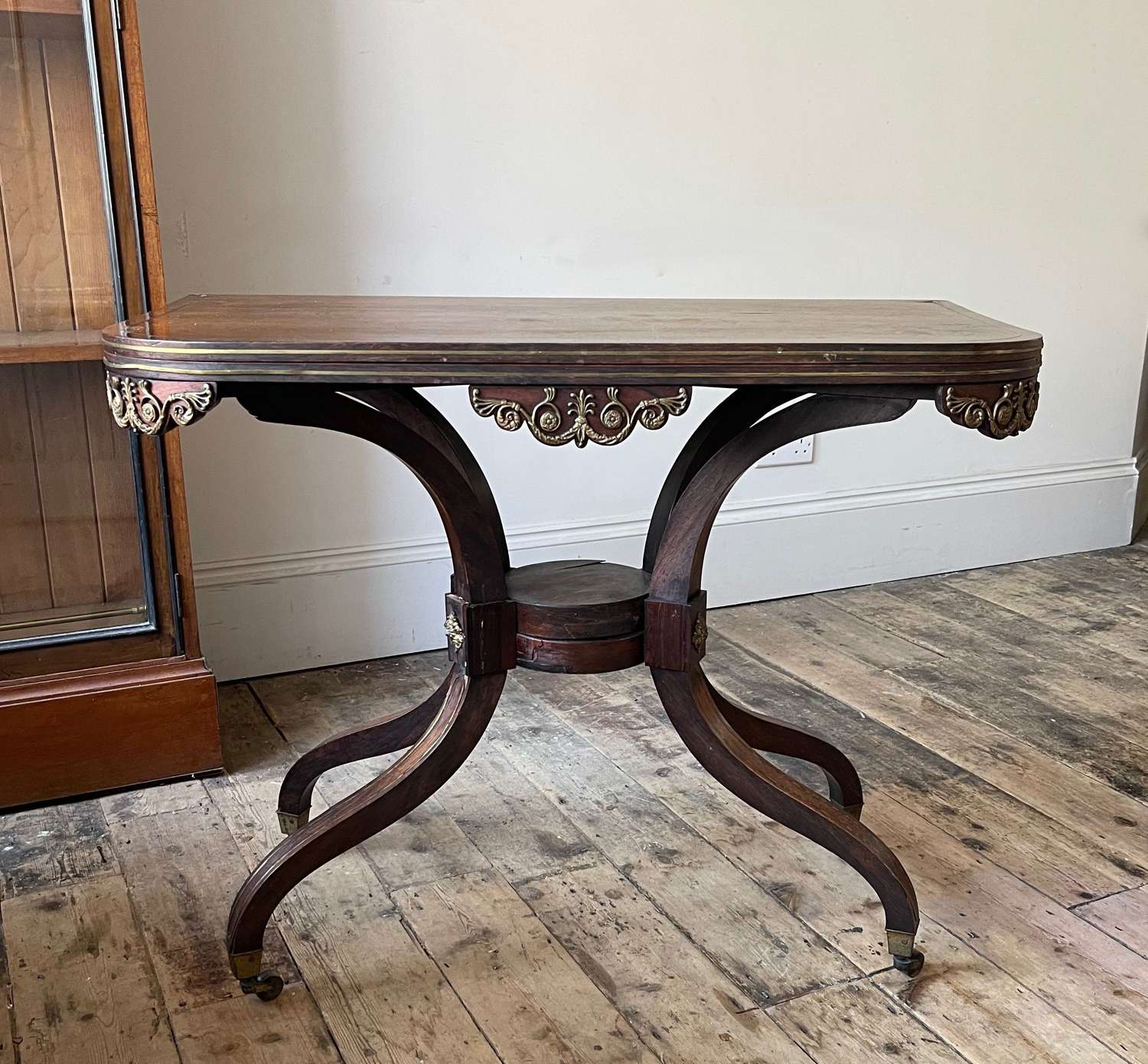 George Oakley card table