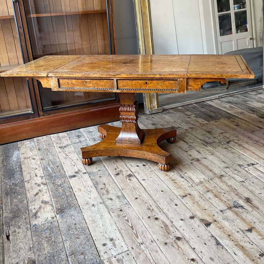 19th century centre table by William Trotter.
