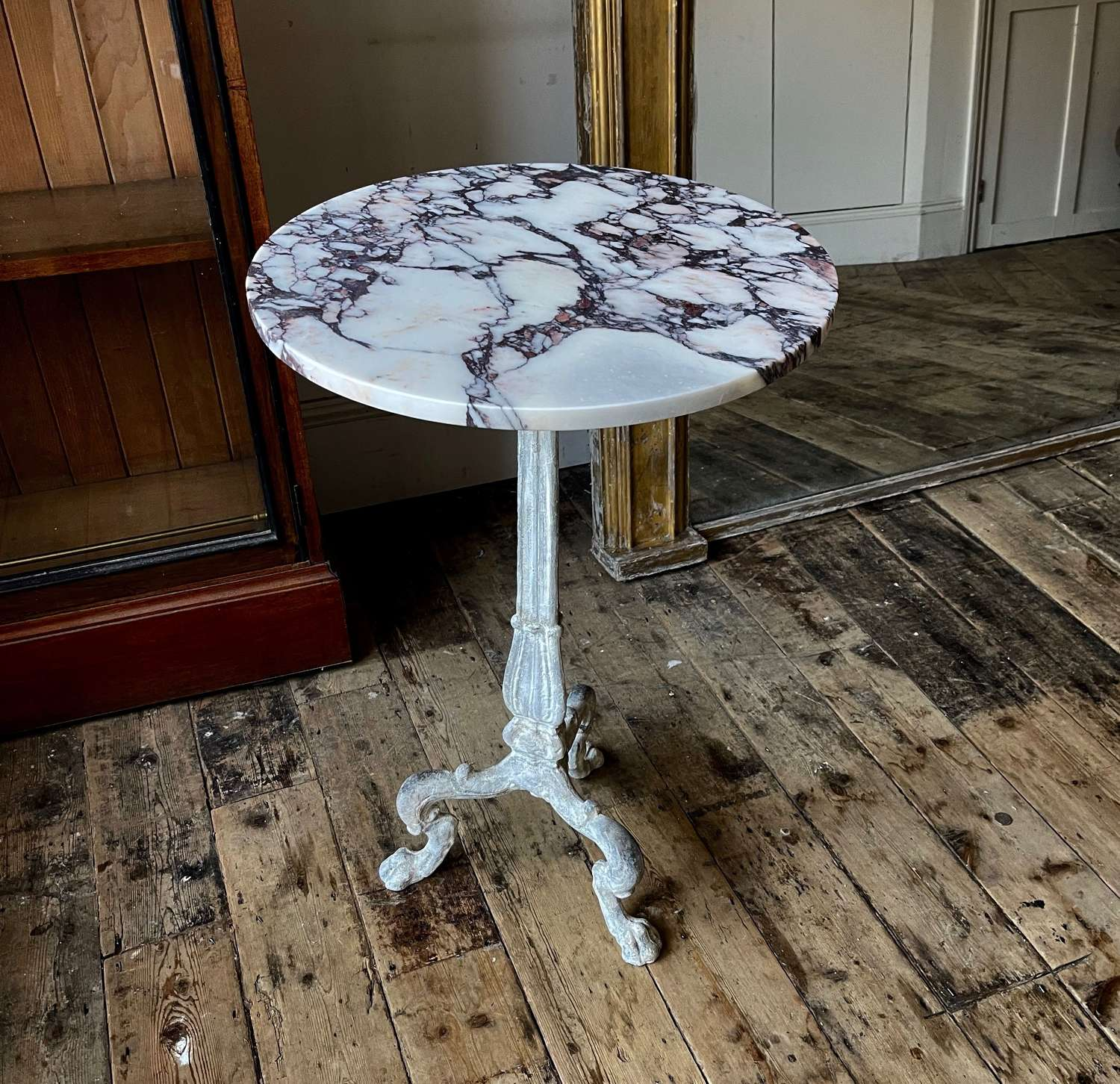 Neo Classical cast iron table