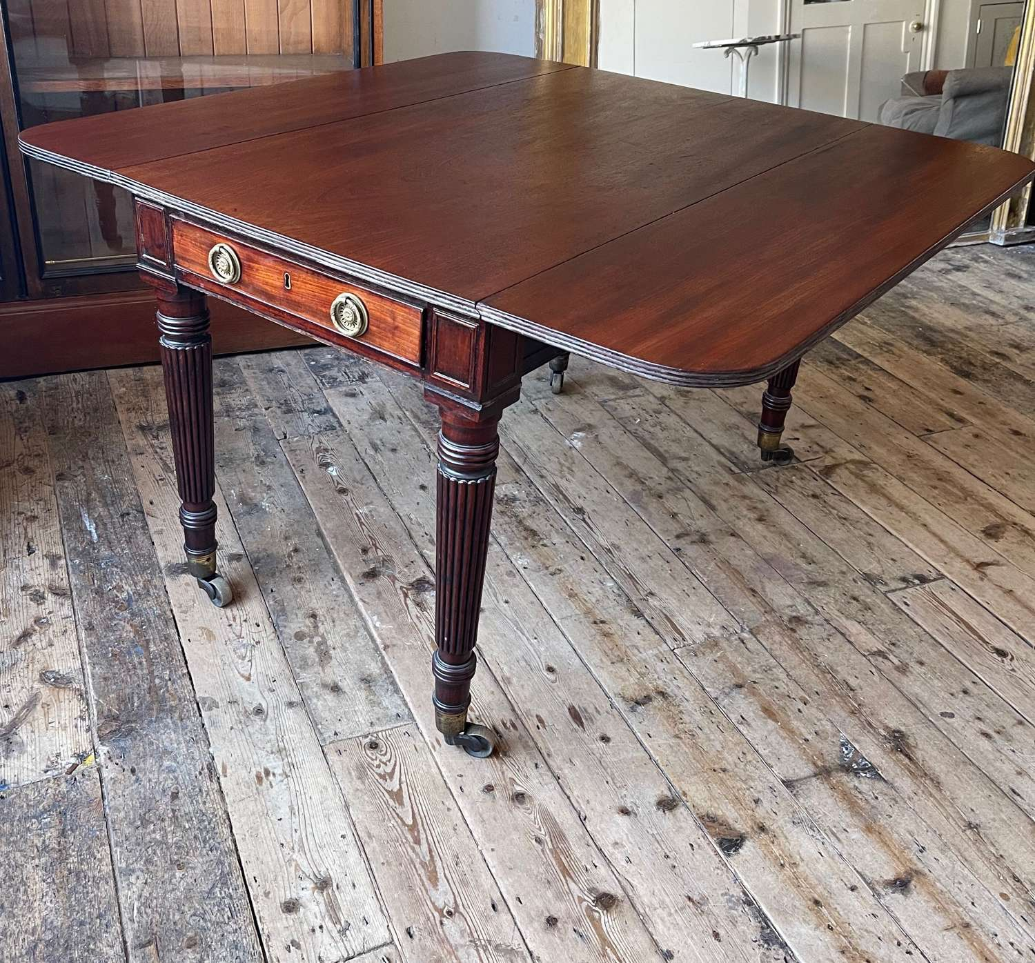 Dining/ library table in the manner of Gillows