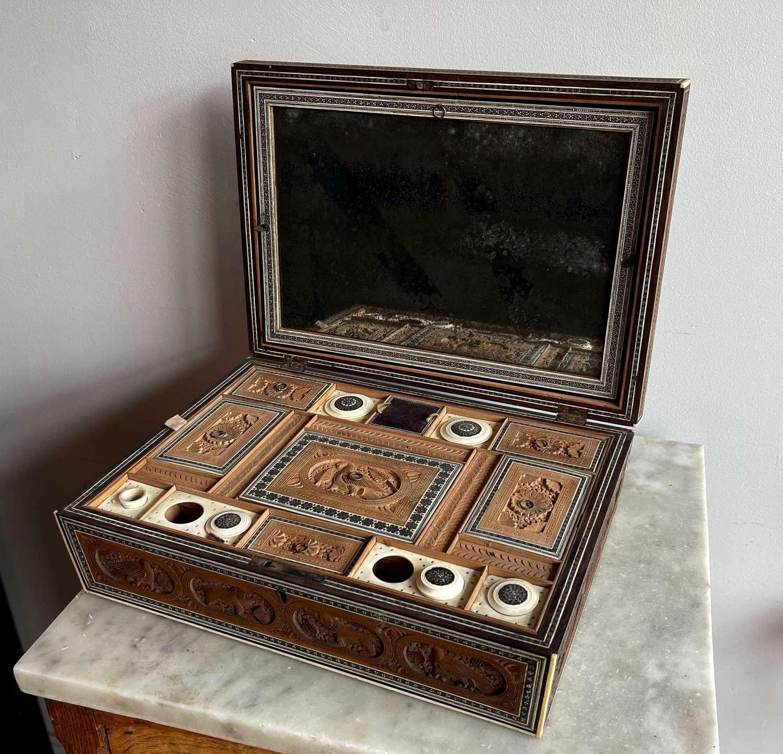 Anglo Indian Sadeli box