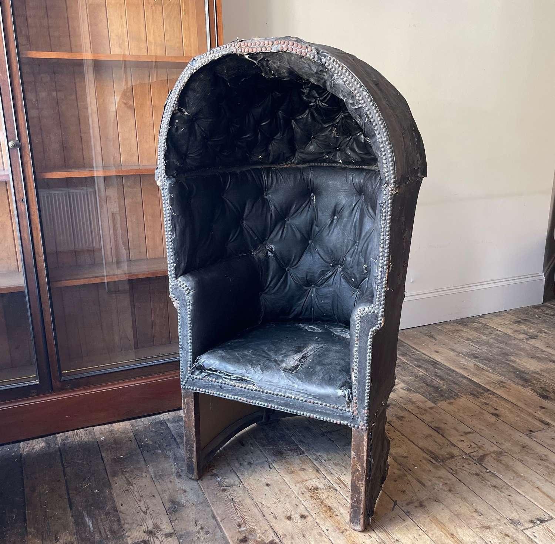 A George III Porters chair
